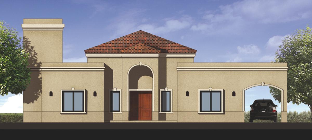 planos a la obra estilo clasico casa 01